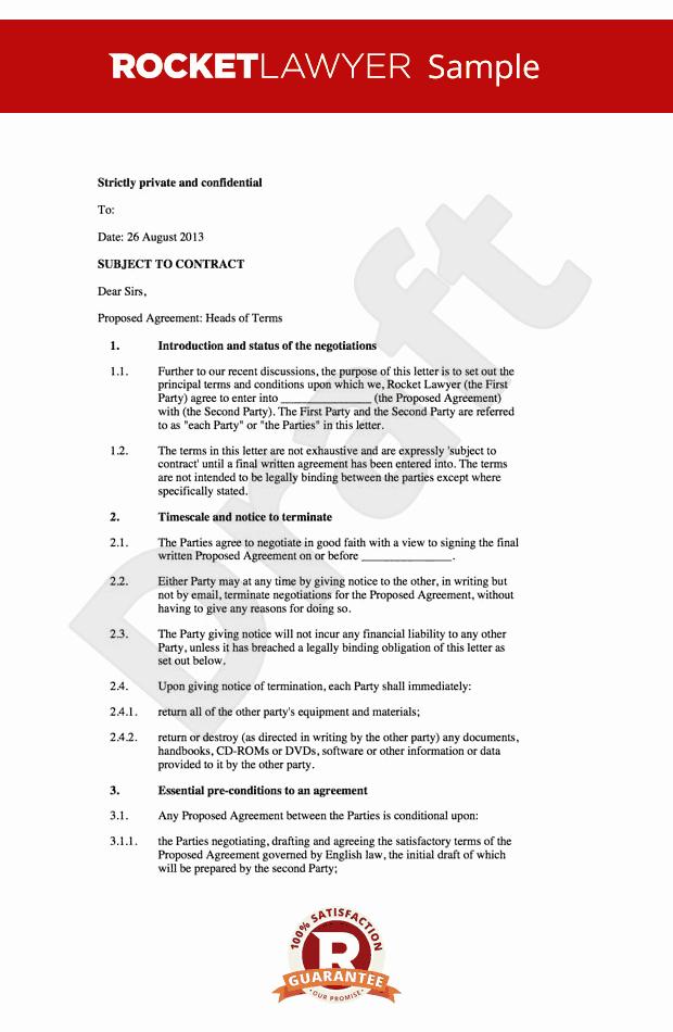 Memo Of Understanding Examples Elegant Letter Of Intent Loi Memorandum Of Understanding