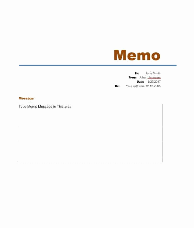 Memo Template Google Docs Awesome 5 Sample Business Memo Templates Example Doc Word Pdf