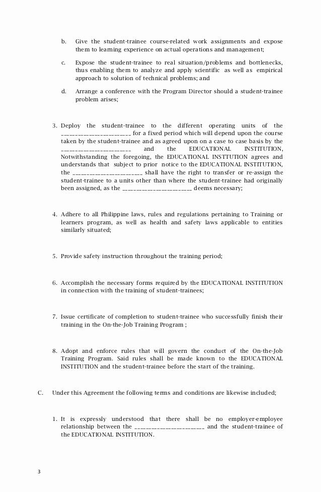 Memorandum Of Understanding Sample Fresh Memorandum Agreement Sample