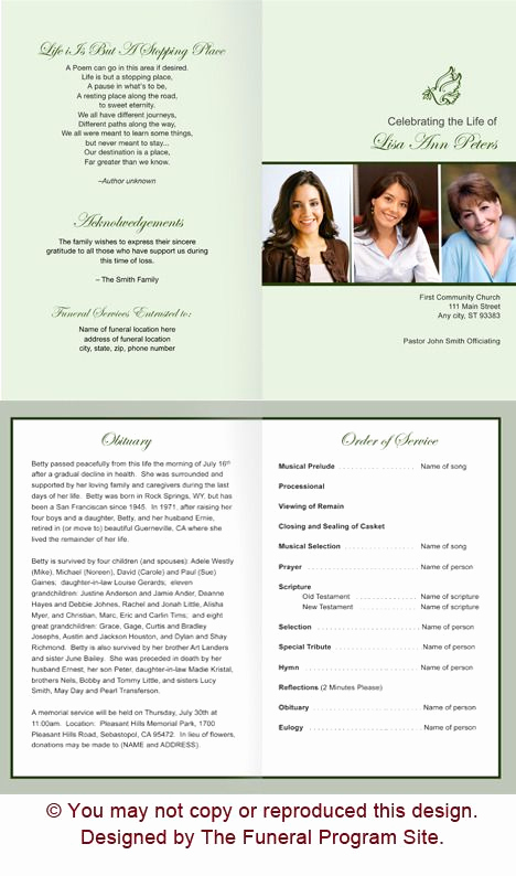 Memorial Services Program Template Luxury the 25 Best Memorial Service Program Ideas On Pinterest
