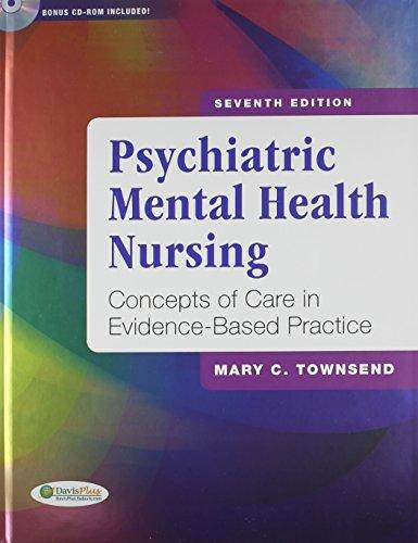 Mental Health Nursing Diagnosis Unique Pkg Psychiatric Mental Health Nursing 7th & Nursing