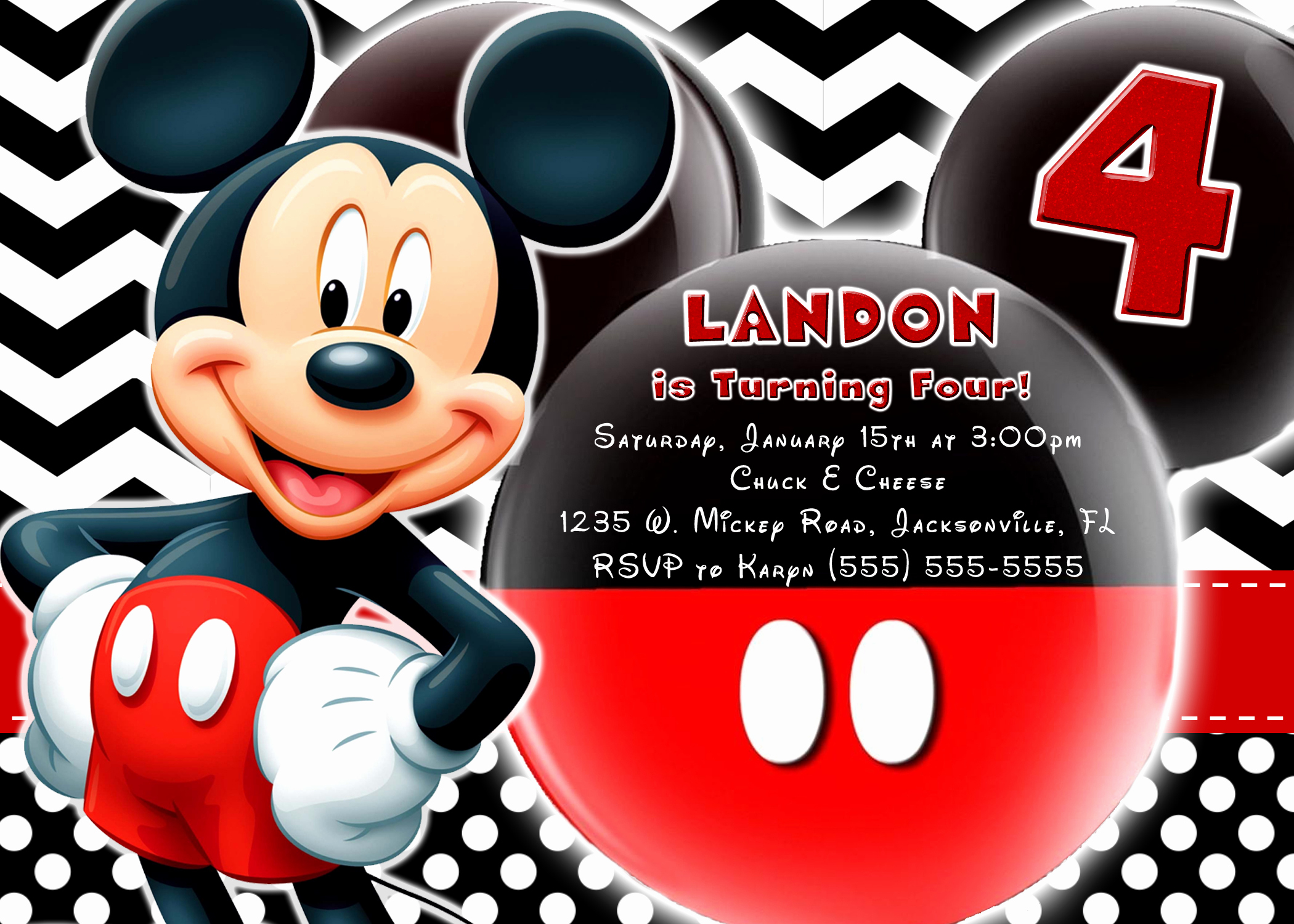Mickey Mouse Birthday Invites Best Of Mickey Mouse and Mickey Mouse Clubhouse Birthday