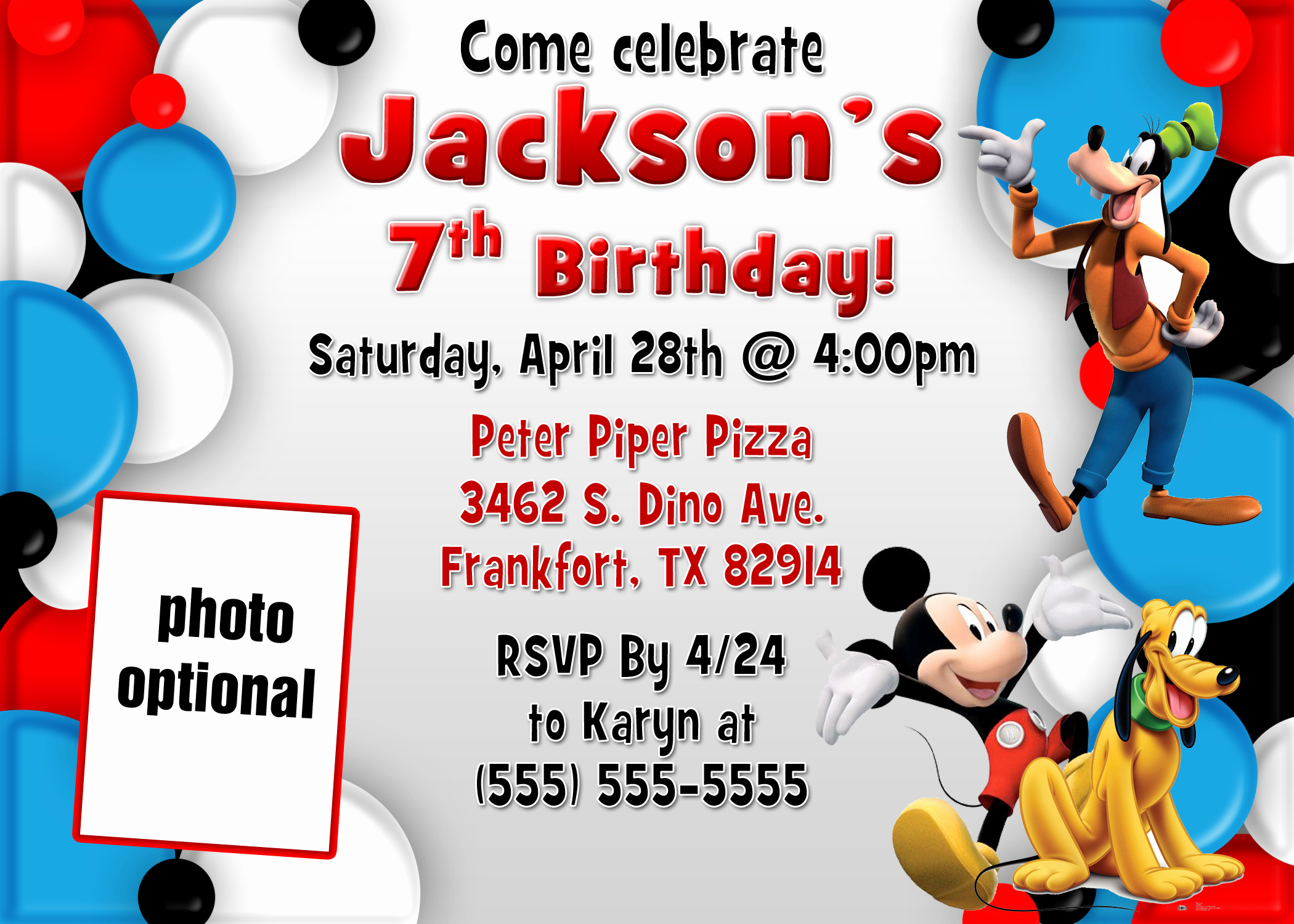 Mickey Mouse Clubhouse Invitations Awesome Mickey Mouse and Mickey Mouse Clubhouse Birthday