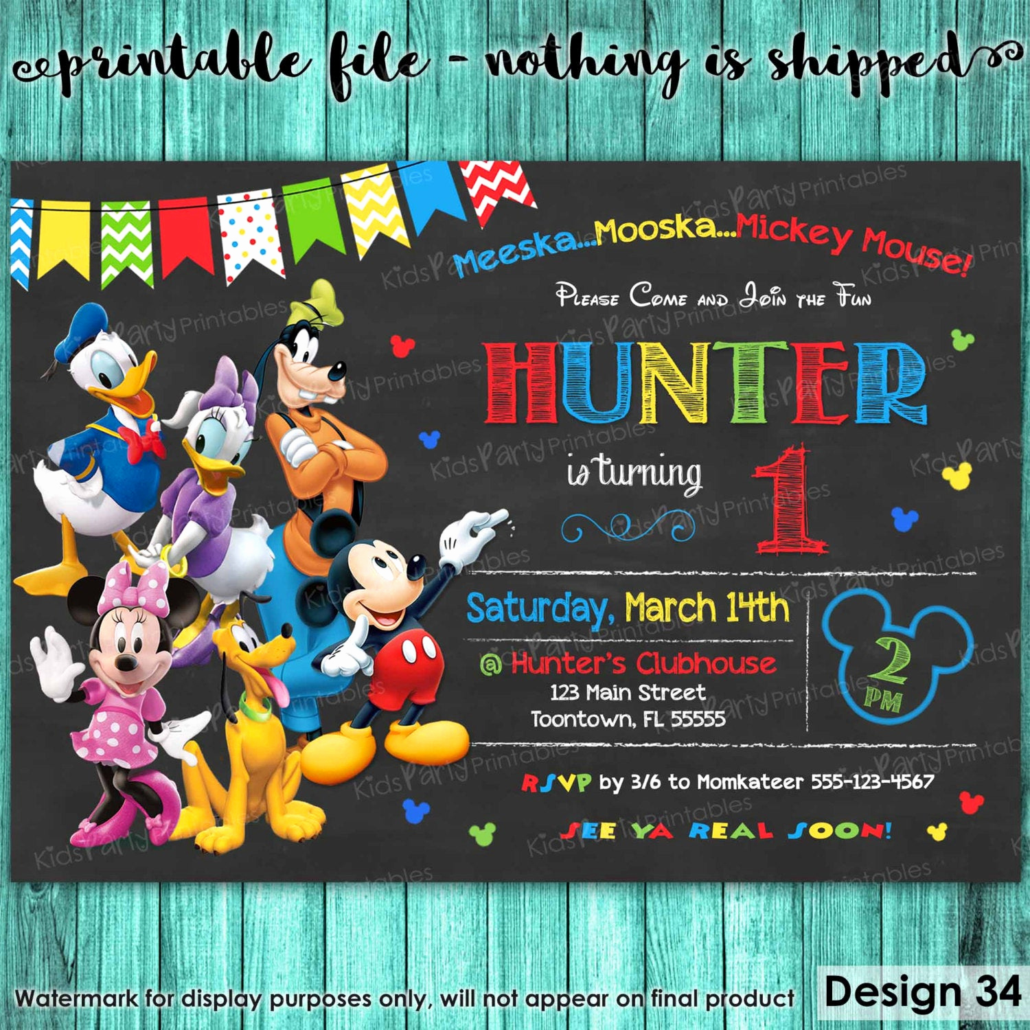 Mickey Mouse Clubhouse Invitations Awesome Mickey Mouse Clubhouse Invitations Mickey Mouse Clubhouse