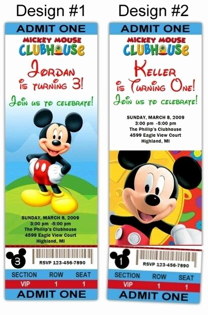 Mickey Mouse Clubhouse Invitations Fresh Mickey Mouse Clubhouse 10ct Birthday Party Invitations