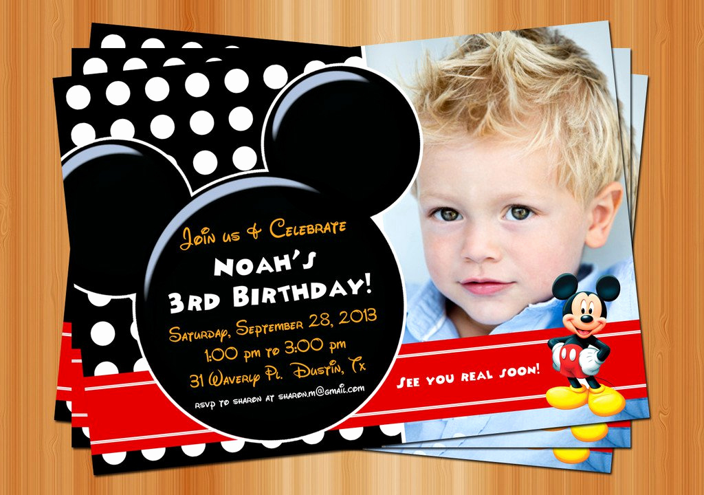 Mickey Mouse Clubhouse Invitations New Exclusive Mickey Mouse Clubhouse Birthday Invitations