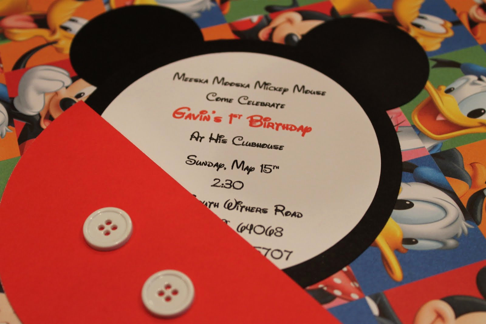 Mickey Mouse Invitation Template Best Of Sillyness Abounds Mickey Mouse Invitation