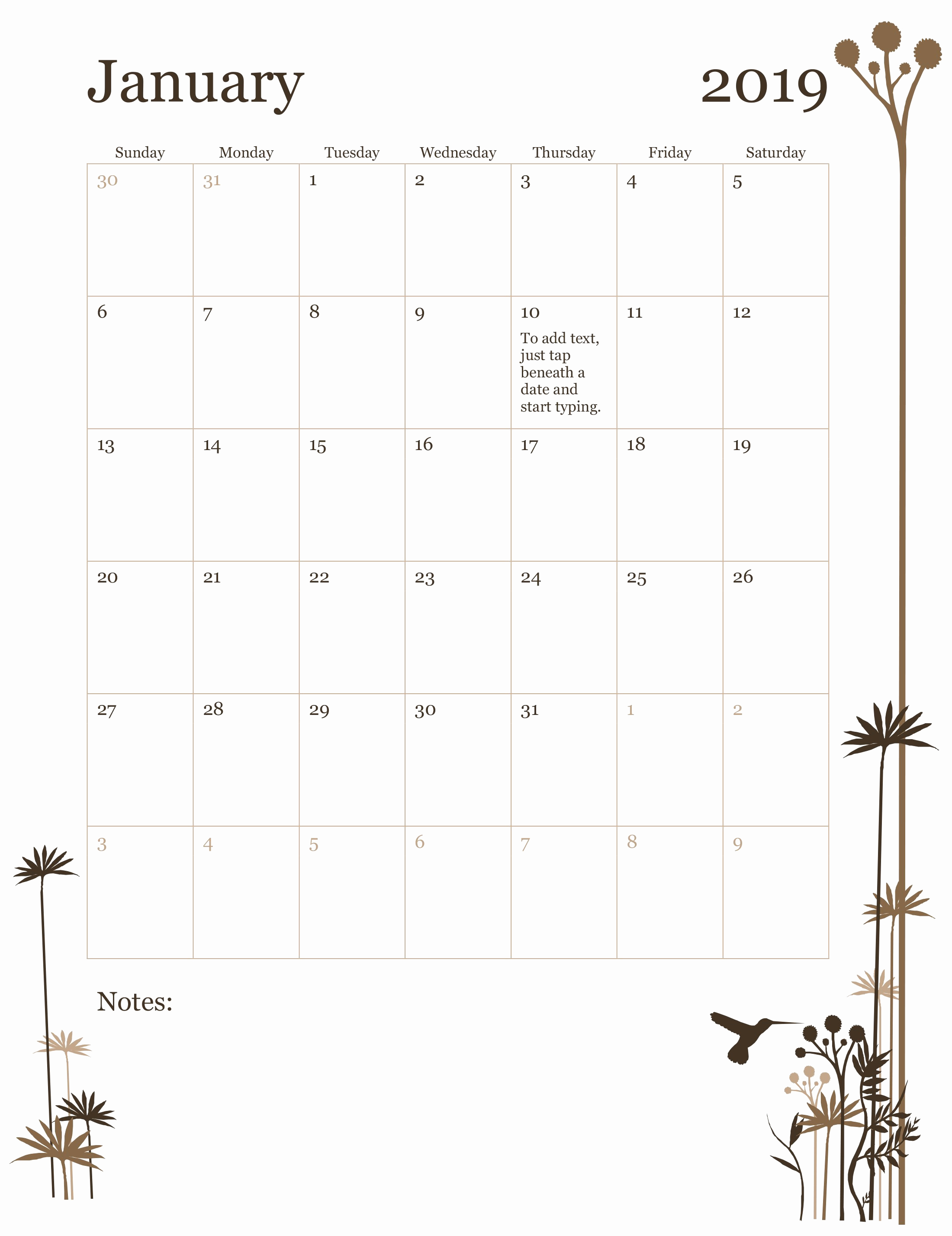 Microsoft Calendar Templates 2019 Beautiful 2019 12 Month Calendar Sun Sat