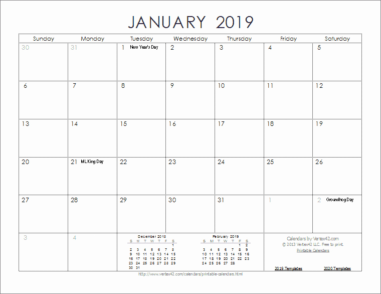 Microsoft Calendar Templates 2019 Luxury 2019 Calendar Templates and