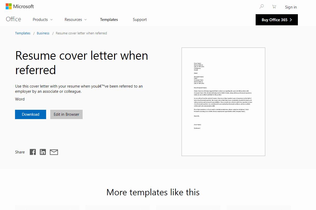 Microsoft Cover Letter Template Elegant Free Cover Letter Templates for Microsoft Word