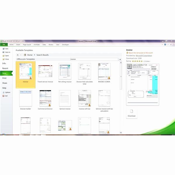 Microsoft Office Invoice Template Beautiful Microsoft Fice Template
