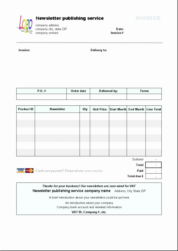 Microsoft Office Invoice Template Best Of Libreoffice Invoice Template