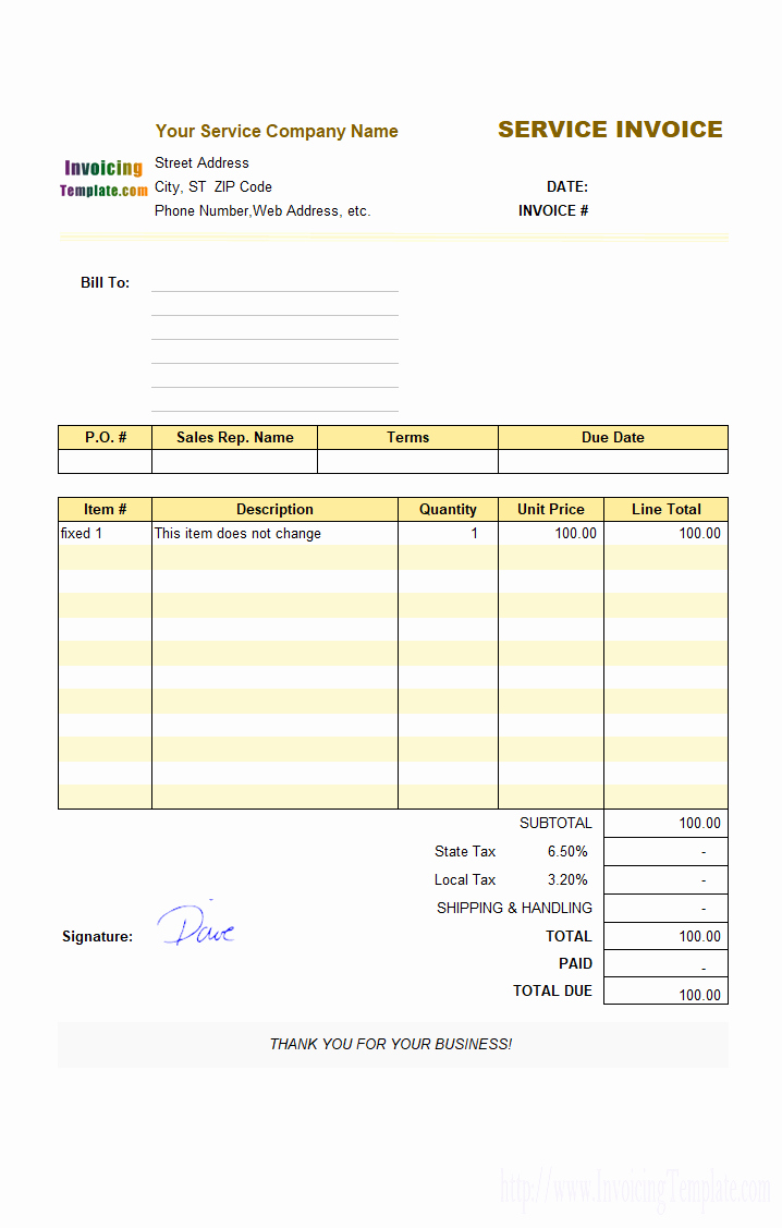 Microsoft Office Invoice Template Inspirational 20 Microsoft Fice Invoice Templates Free Download