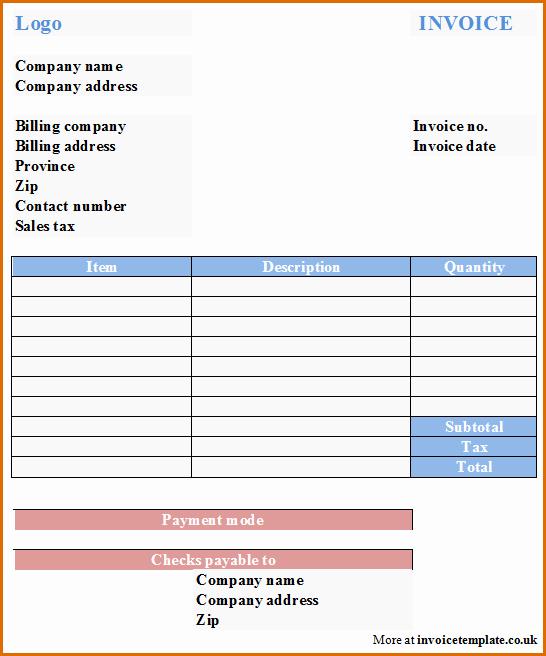 Microsoft Office Invoice Template Unique 15 Microsoft Office Invoice Template