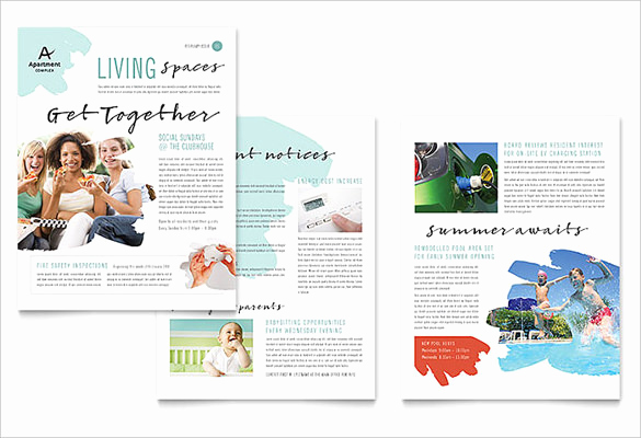 Microsoft Publisher Newsletter Templates Best Of 27 Microsoft Newsletter Templates Doc Pdf Psd Ai