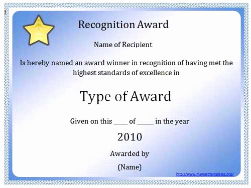 Microsoft Word Certificate Template Elegant Certificate Templates