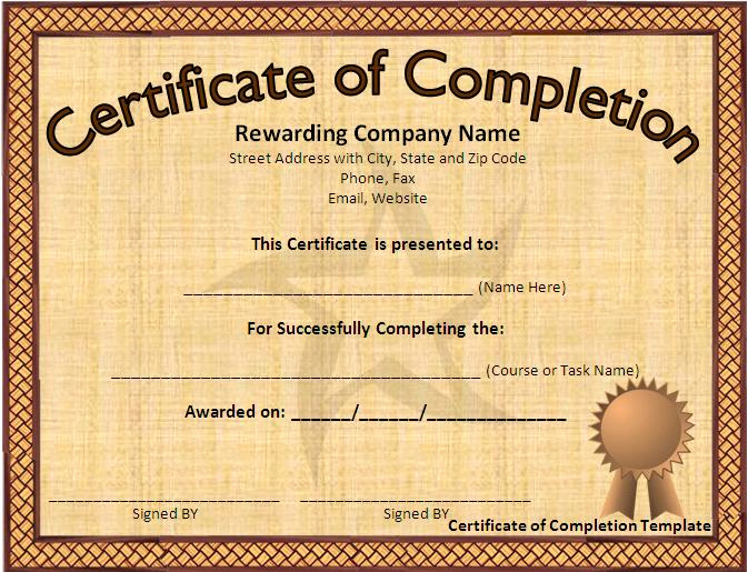 Microsoft Word Certificate Template Lovely 12 Certificate Templates Free Downloads