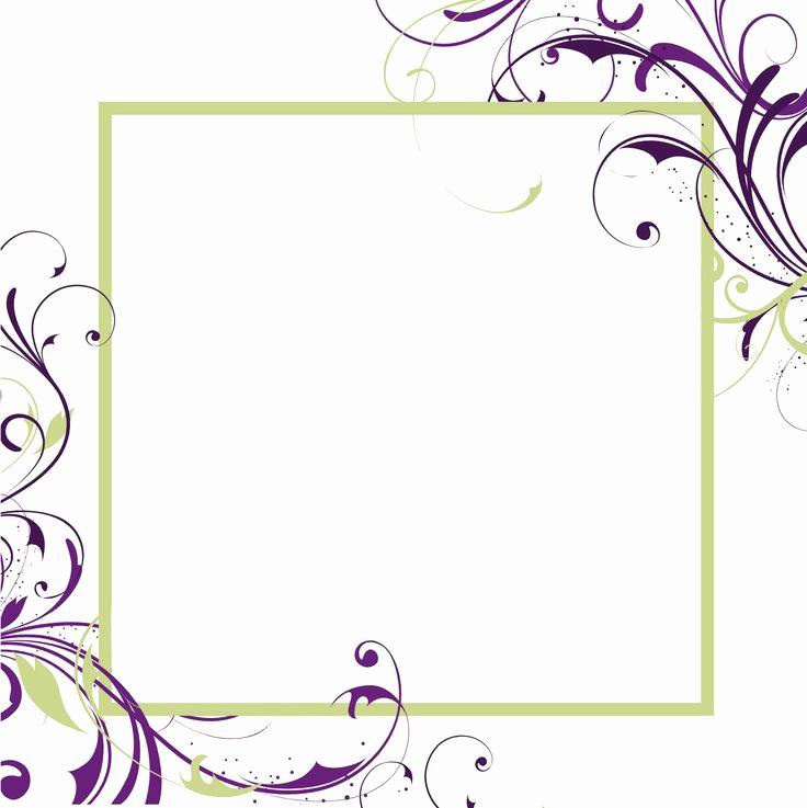 Microsoft Word Invitation Template Elegant Free Printable Blank Invitations Templates
