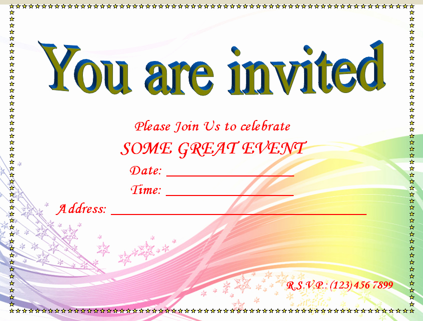 Microsoft Word Invitation Templates Awesome Invitation Youth Minister Riverchase Church Of Christ