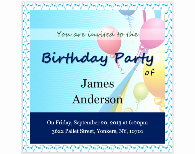 Microsoft Word Invitations Templates Elegant 13 Free Templates for Creating event Invitations In