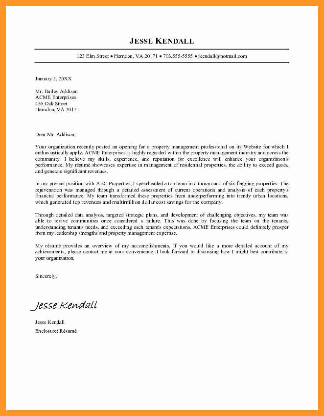 Microsoft Word Letter Template Fresh Microsoft Word Cover Letter Template