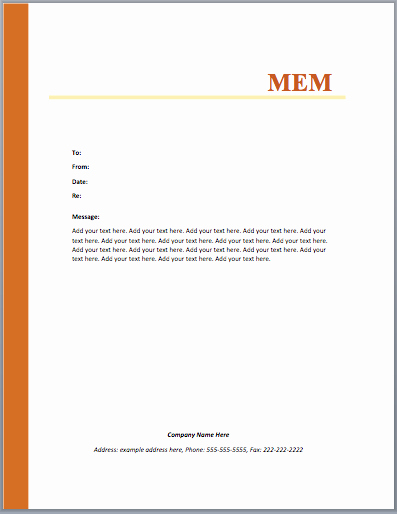 Microsoft Word Letter Template Lovely Mou Memo Template – Microsoft Word Templates