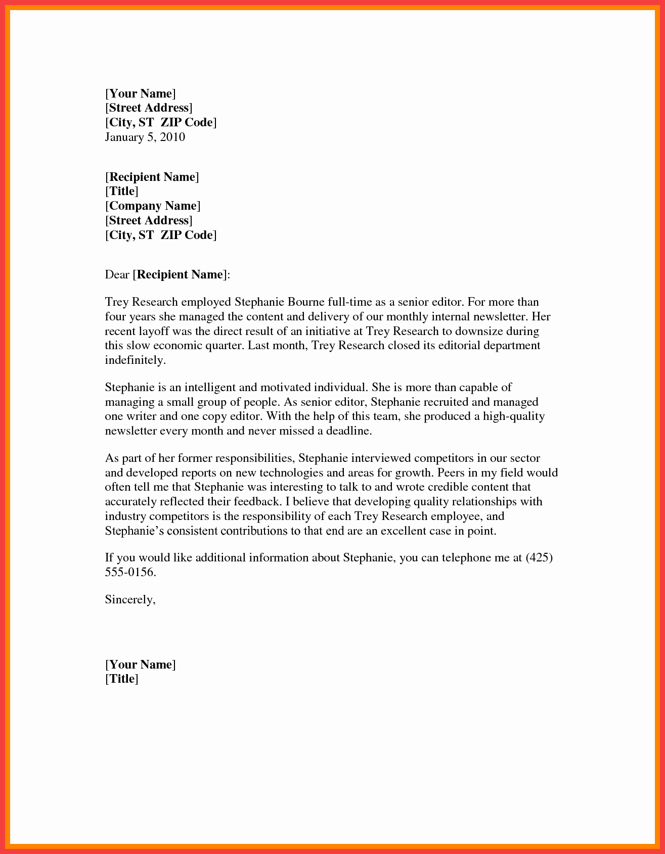 Microsoft Word Letter Template Unique Word formal Letter Template