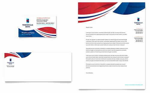Microsoft Word Letterhead Templates Elegant Financial Services Letterhead Templates Word & Publisher