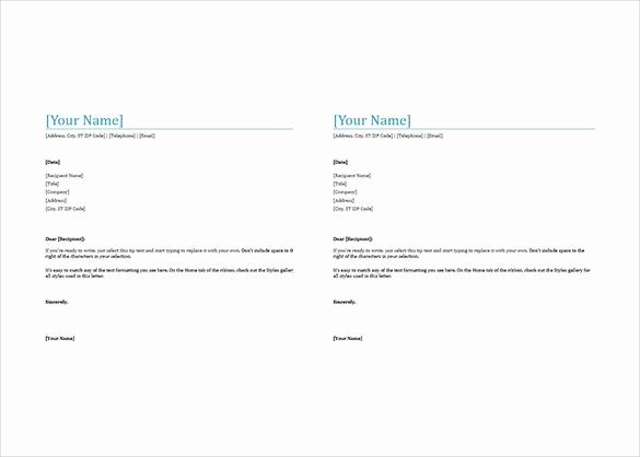 Microsoft Word Letterhead Templates Fresh 32 Free Download Letterhead Templates In Microsoft Word