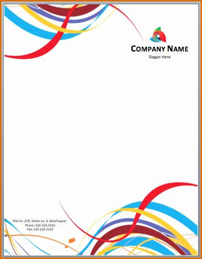 Microsoft Word Letterhead Templates Inspirational 13 Microsoft Word Letterhead Template