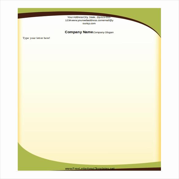 Microsoft Word Letterhead Templates Inspirational 35 Free Download Letterhead Templates In Microsoft Word