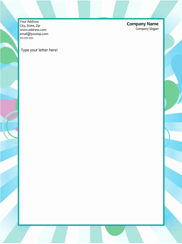 Microsoft Word Letterhead Templates Lovely 50 Free Letterhead Templates & formats for Word