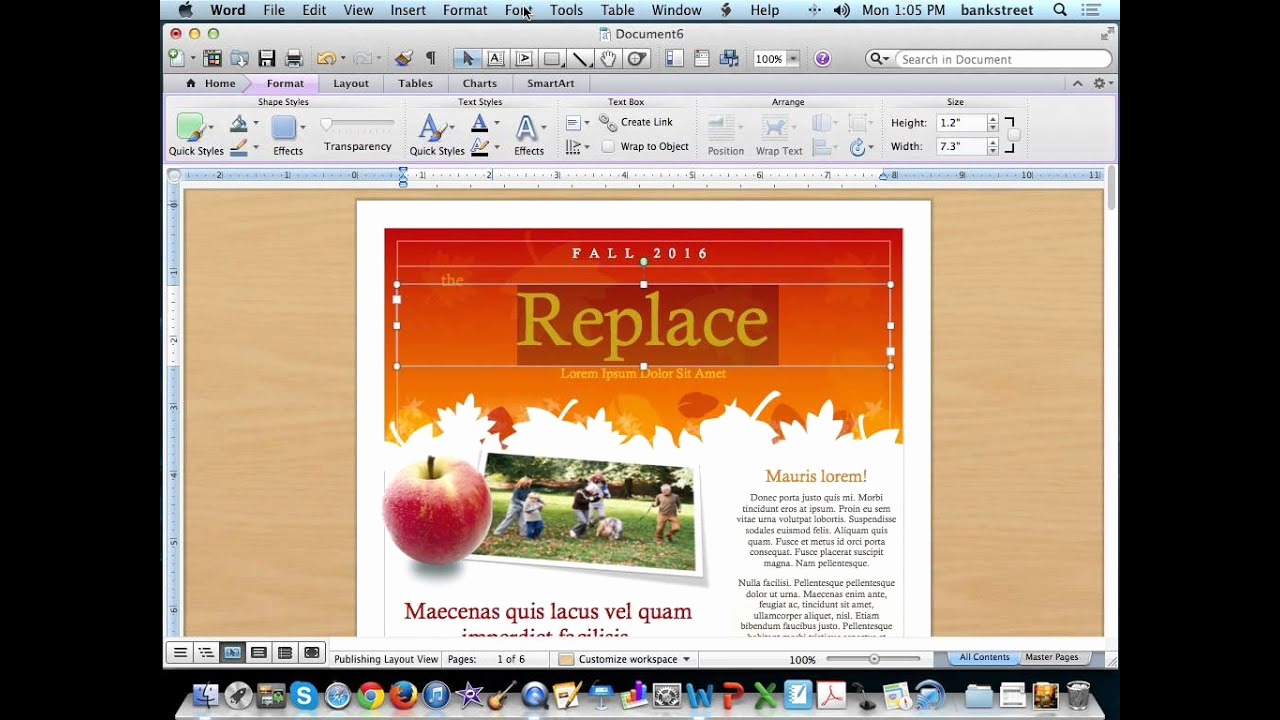 Microsoft Word Newsletter Templates Beautiful Create A Newsletter Using Microsoft Word Templates