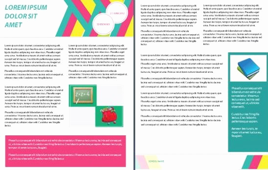 Microsoft Word Newsletter Templates Fresh 15 Free Microsoft Word Newsletter Templates for Teachers