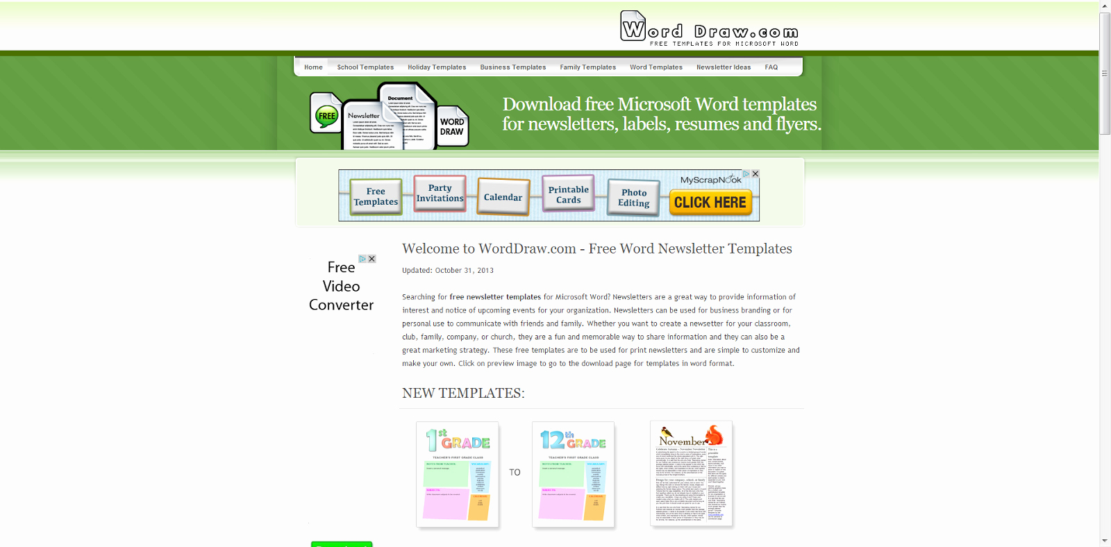 Microsoft Word Newsletter Templates Lovely Learning Never Stops 8 Free Websites to Create Cool