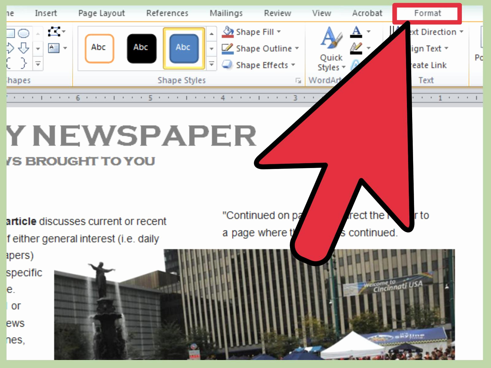 Microsoft Word Newspaper Template Best Of 3 Ways to Make A Newspaper On Microsoft Word Wikihow