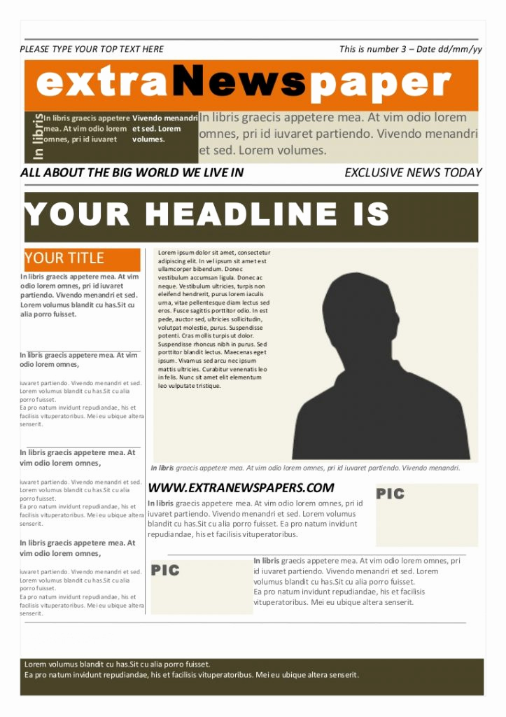 Microsoft Word Newspaper Template Fresh 26 Newspaper Templates Free Word Pdf Psd Indesign