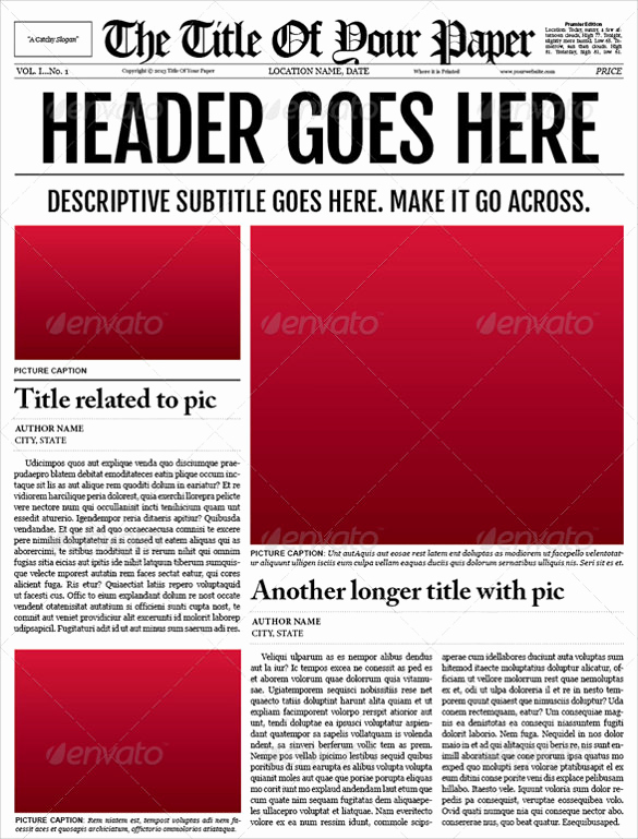 Microsoft Word Newspaper Template Fresh Newspaper Template 19 Download Free Documents In Pdf