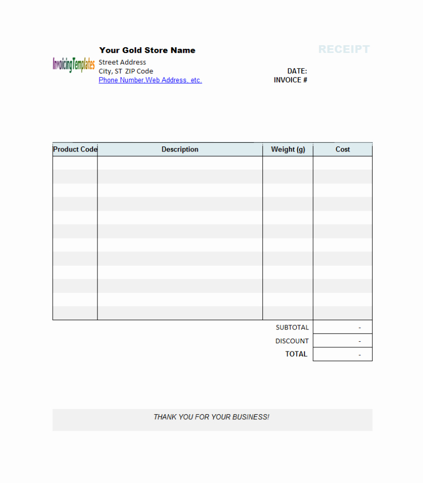Microsoft Word Receipt Template New Graphic Receipt Template