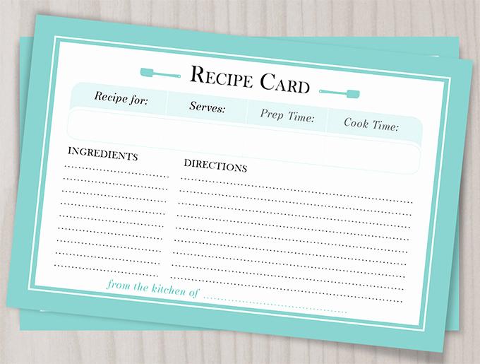 Microsoft Word Recipe Template Beautiful 43 Amazing Blank Recipe Templates for Enterprising Chefs