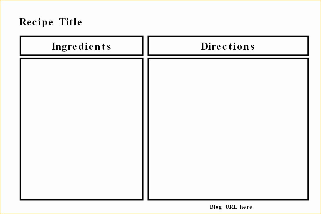 Microsoft Word Recipe Template Best Of Microsoft Word Recipe Templates Madohkotupakka