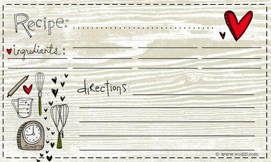 Microsoft Word Recipe Template Fresh 8 Free Recipe Card Templates Excel Pdf formats