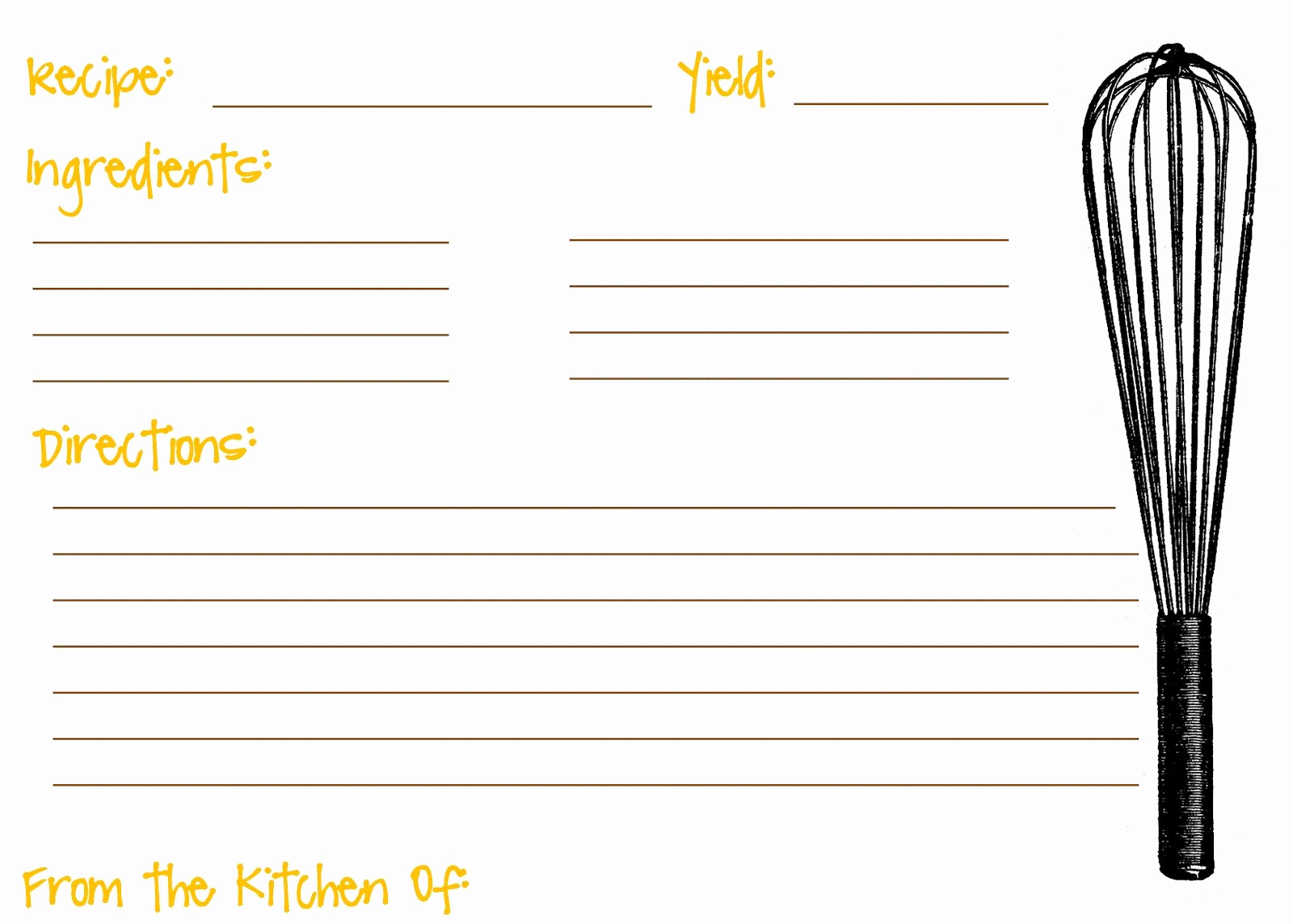 Microsoft Word Recipe Template Fresh Scooter Cakes Free Printable Recipe Cards