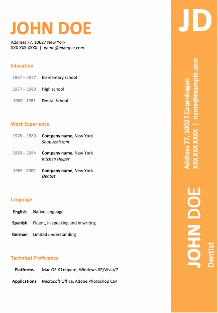 Microsoft Word Template Downloads Lovely 89 Best yet Free Resume Templates for Word