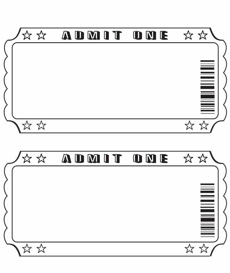 Microsoft Word Ticket Template Awesome 25 Best Ideas About Ticket Template On Pinterest