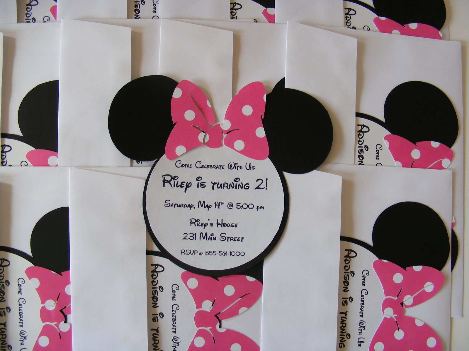 Minnie Mouse Birthday Invitations Awesome Whimsical Creations by Ann Minnie Mouse Birthday Party Ideas