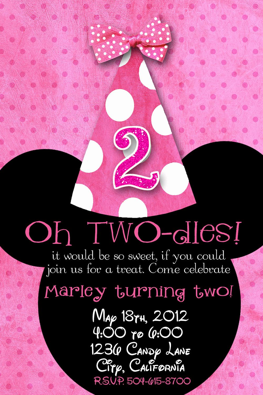 Minnie Mouse Birthday Invitations Elegant Minnie Mouse Birthday Quotes Quotesgram