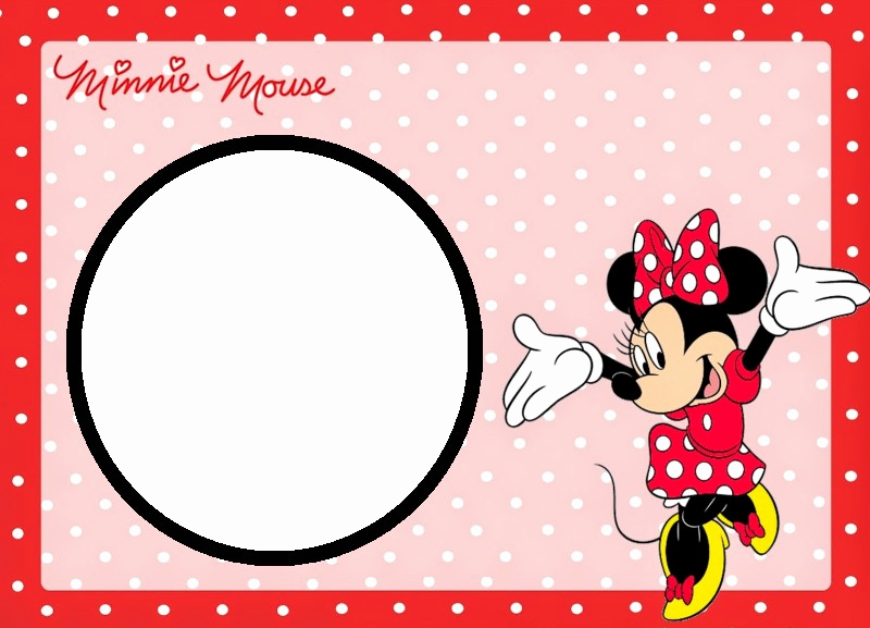 Minnie Mouse Invitation Template Awesome Minnie Mouse Free Printable Invitation Templates