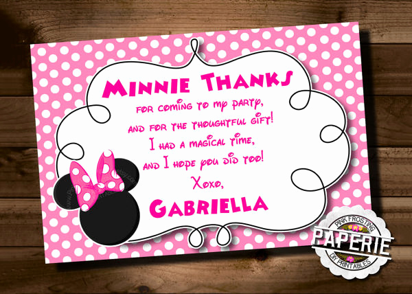 Minnie Mouse Invitation Template Best Of 23 Awesome Minnie Mouse Invitation Templates Psd Ai
