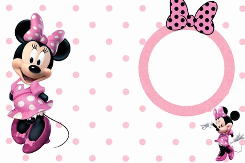 Minnie Mouse Invitation Template Elegant Minnie Mouse Free Printable Invitation Templates
